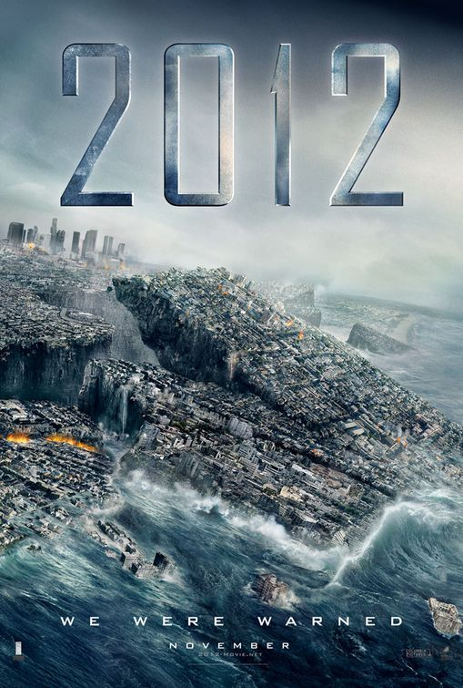 Affiche alternative du film 2012 de Roland Emmerich