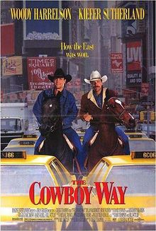 Deux cow-boys à New Yorks