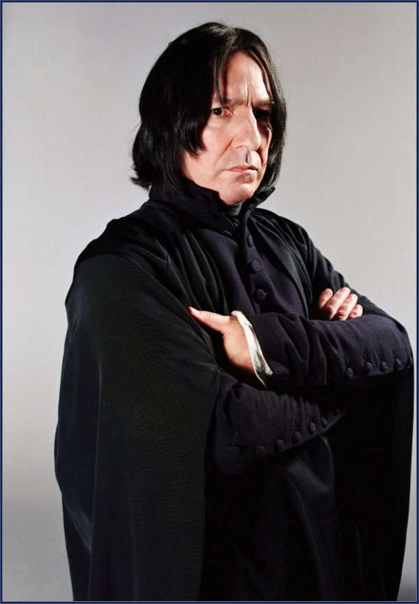 Alan Rickman dans Harry Potter
