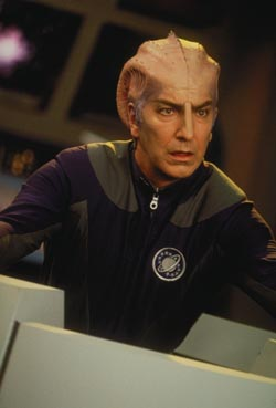 Alan Rickman dans Galaxy Quest