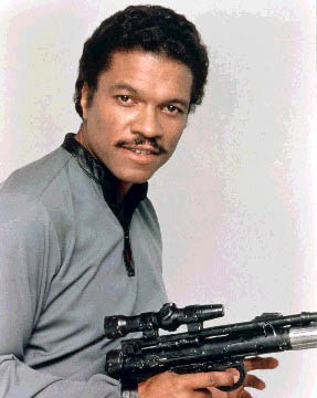 Billy Dee Williams dans le rôe de Lando Calrissian