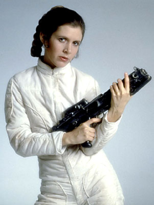 Carrie Fisher dans l'Empire contre-attaque