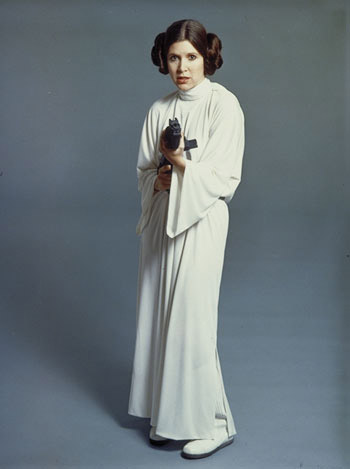 Carrie Fisher dans Star Wars