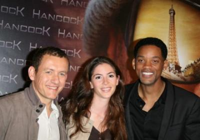 Dany Boon, Yaël Harris et Will Smith
