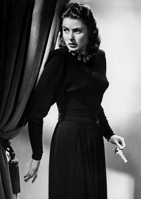 Ingrid Bergman chez Hitchcock, dans les Enchainés