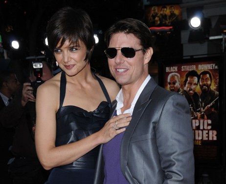 Katie Holmes et Tom Cruise, le couple le plus People au monde?