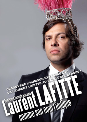 Laurent Lafitte, homme de spectacle
