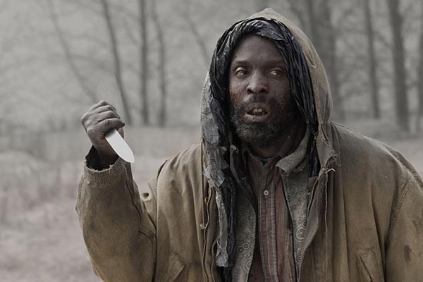 Michael Kenneth Williams dans la Route