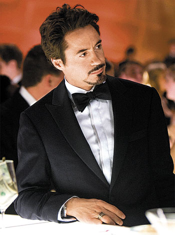 Robert Downey Jr dans la peau de Tony Stark, l'alter ego d'Iron Man