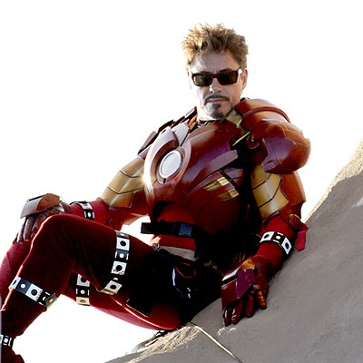 Robert Downey Jr dans Iron Man 2