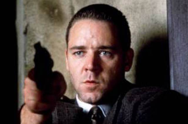 Russell Crowe dans L.A. Confidential