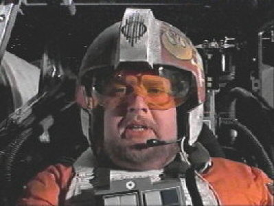 William Hootkins dans Star Wars