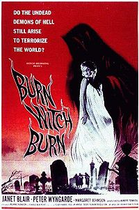 Brun, witch, burn de Sidney Hayers