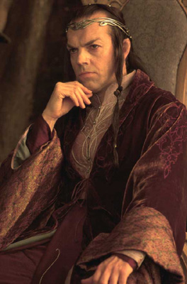 Elrond (Hugo Weaving)