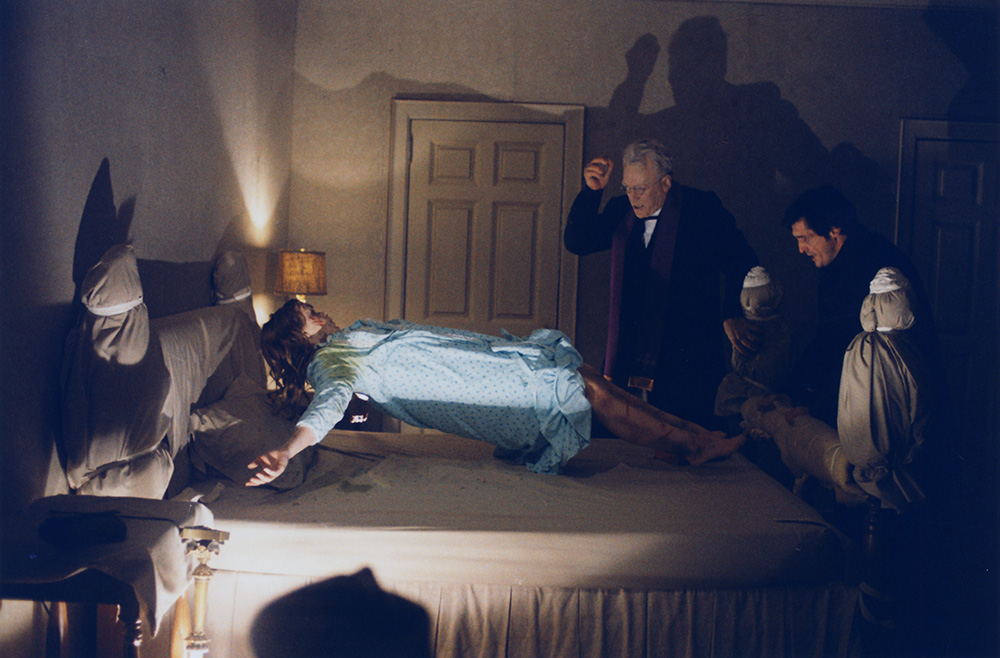 L'Exorciste de William Friedkin: Linda Blair, Max von Sydow et Jason Miller