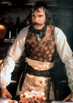 Daniel Day-Lewis dans Gangs of New-York de Martin Scorsese