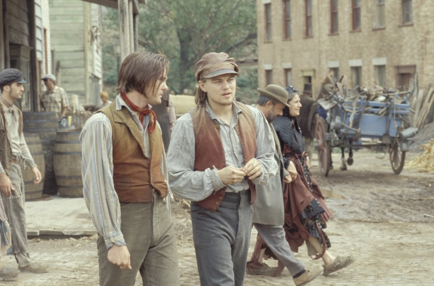 Leonardo Di Caprio et Henry Thomas dans Gangs of New-York, de Martin Scorsese