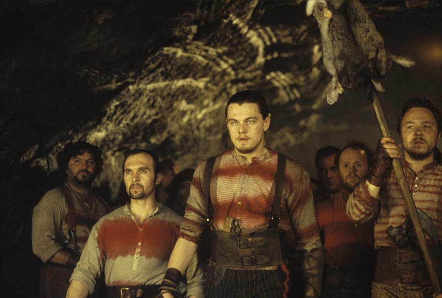 Leonardo Di Caprio dans Gangs of New-York, de Martin Scorsese