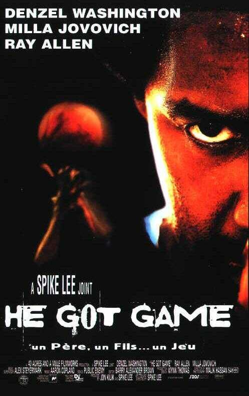 He Got Game, Affiche du film