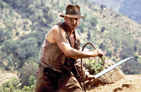 Indiana Jones (Harrison Ford) l'aventurier