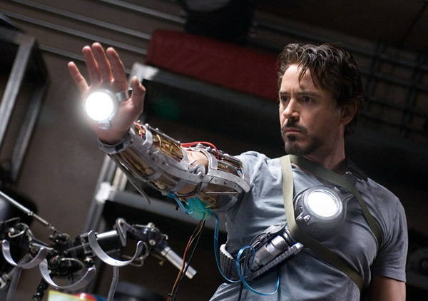 Robert Downey Jr dans la peau d'Iron Man