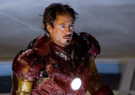 Robert Downey Jr dans Iron Man de Jon Favreau