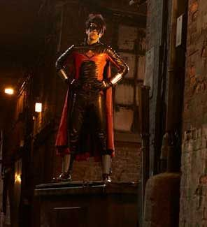 Christopher Mintz-Plasse alias Red Mist dans Kick-Ass de Matthew Vaughn
