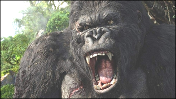 King Kong version Peter Jackson, le roi de la Jungle, c'est lui