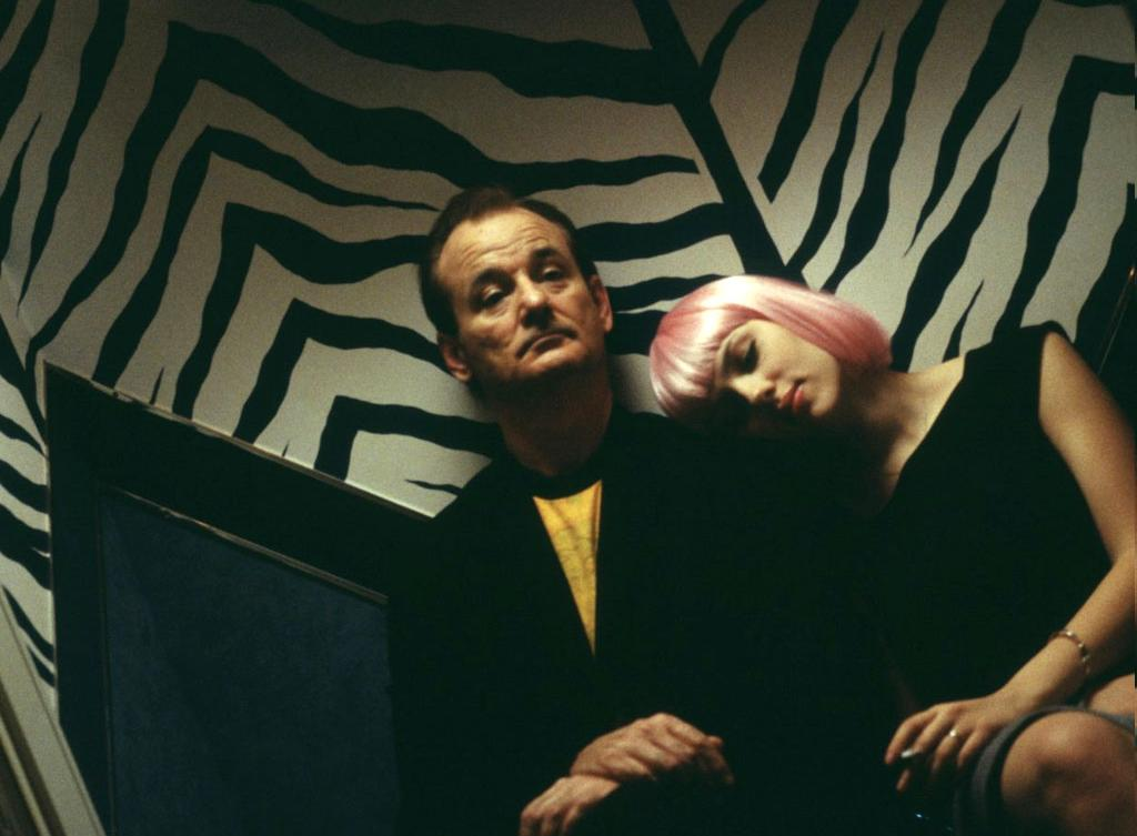 Bill Murray et Scarlett Johansson dans Lost in translation
