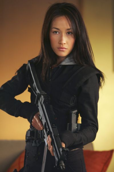 Maggie Q dans Mission: Impossible III