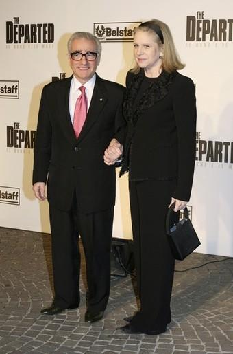 martin scorsese and helen morris. Martin Scorsese et sa femme