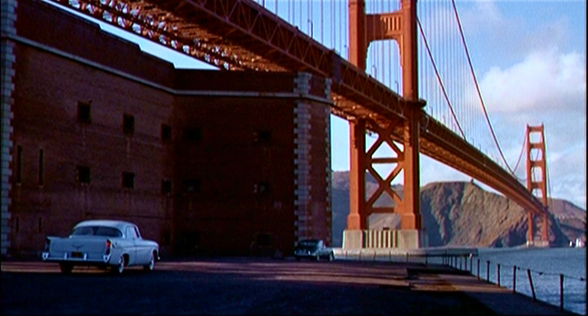 San Fransisco, dans sueurs froides d'Alfred Hitchcock