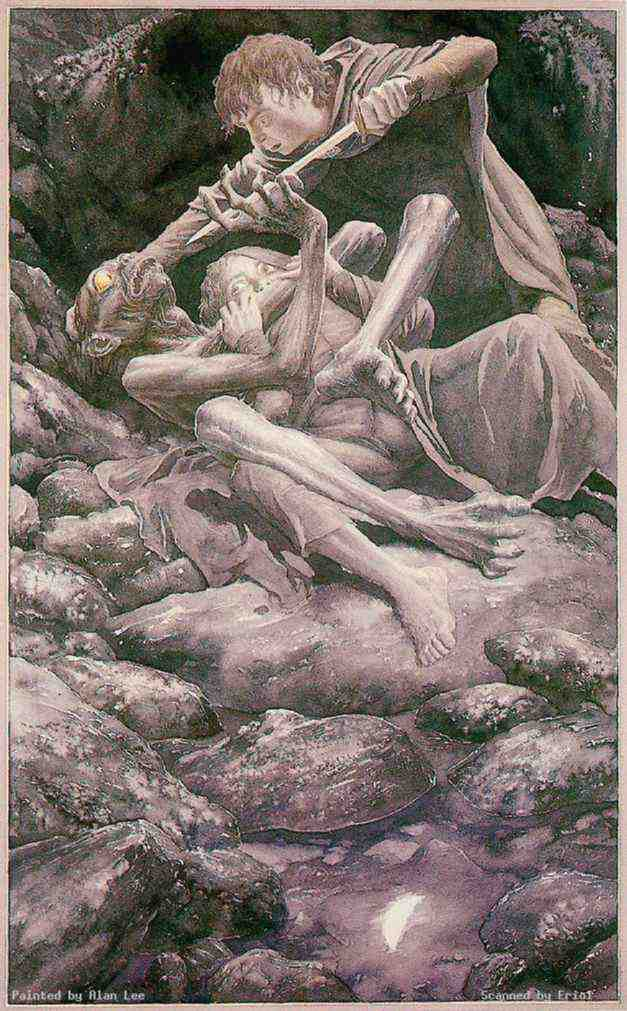 Gollum, par Alan Lee