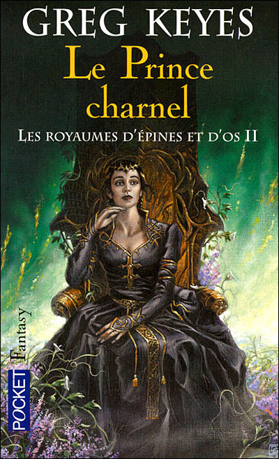 Le prince charnel, collection Fantasy, chez Pocket
