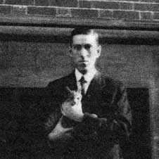 H.P. Lovecraft, amis des chats