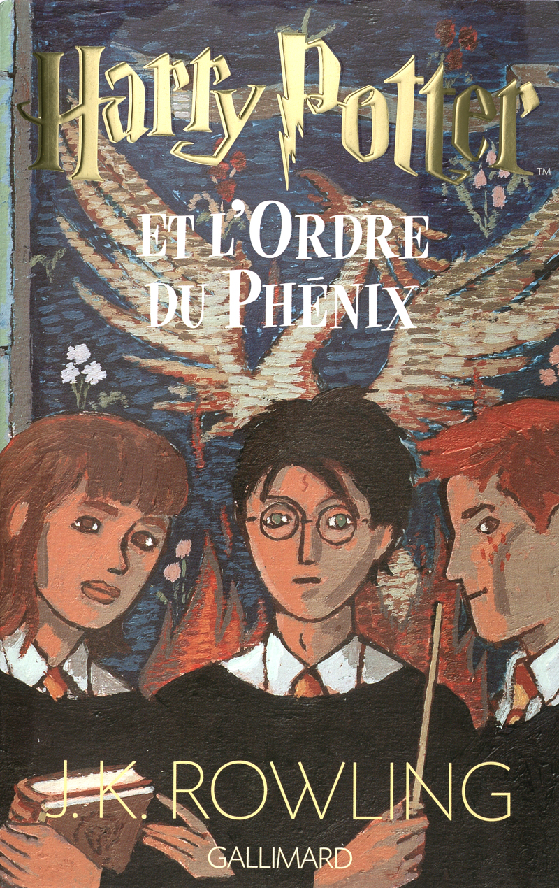 Harry Potter et L'ordre du phénix, Folio Junior