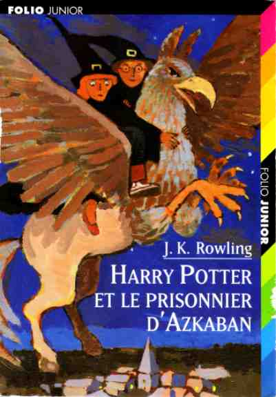 Harry Potter et le prisonnier d'Azkaban, Folio Junior