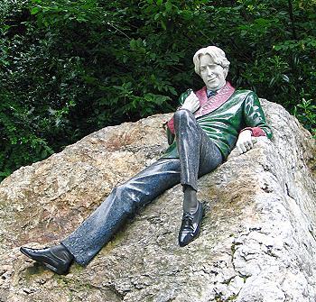 Statue d'Oscar Wilde à Dublin