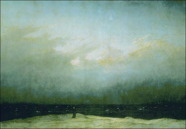 The Monk by the Sea, Caspar David Friedrich, 1808