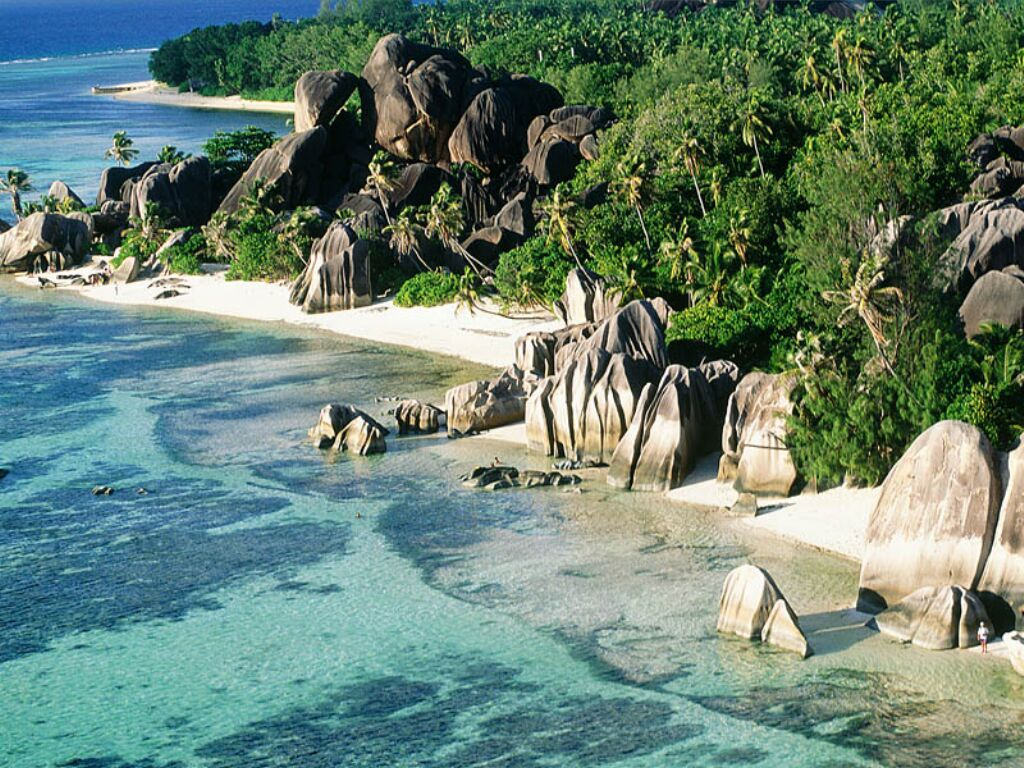 L'Anse Source d'Argent à la Digue